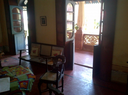 Portuguese House For Rent In Assagao Goa All Built Up